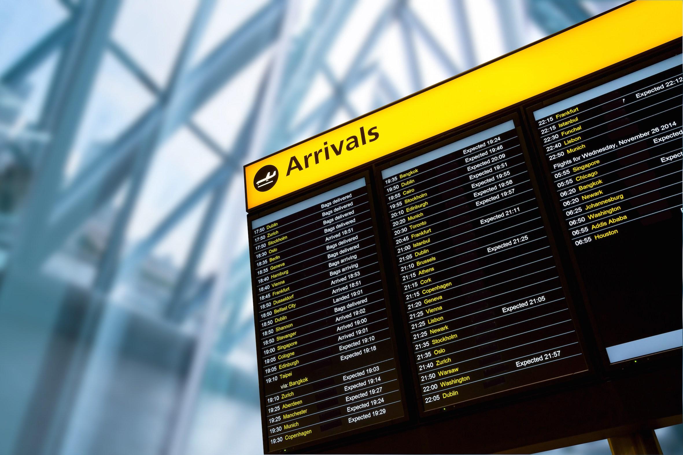 Arriving In London Britannia